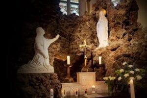 Maria altaar in Mariagrot